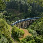 Nine Arch Bridge Ella in Sri Lanka