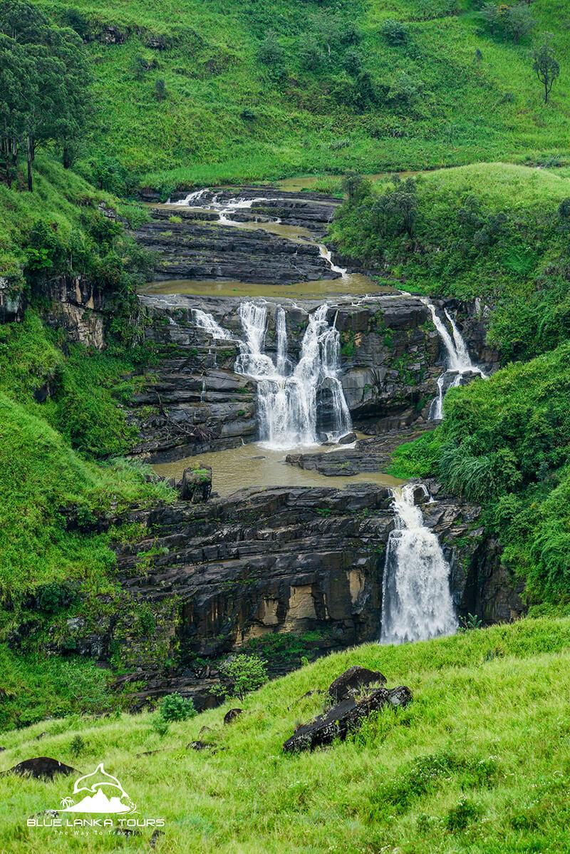 Waterfall in Sri Lanka 1