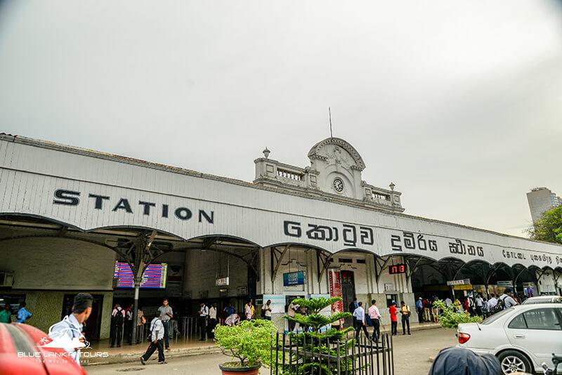 Railway Station Colombo in Sri Lanka