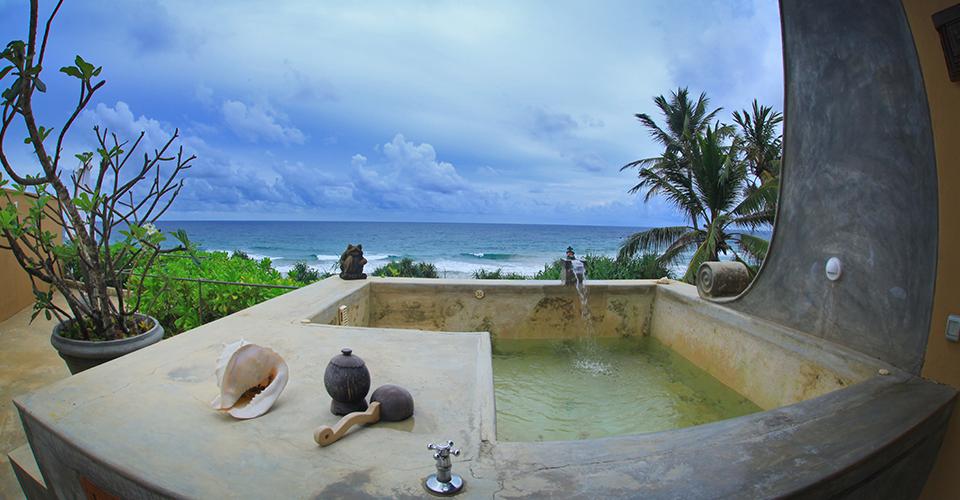 Surya Plunge Pool Adithya Hotel in Sri Lanka