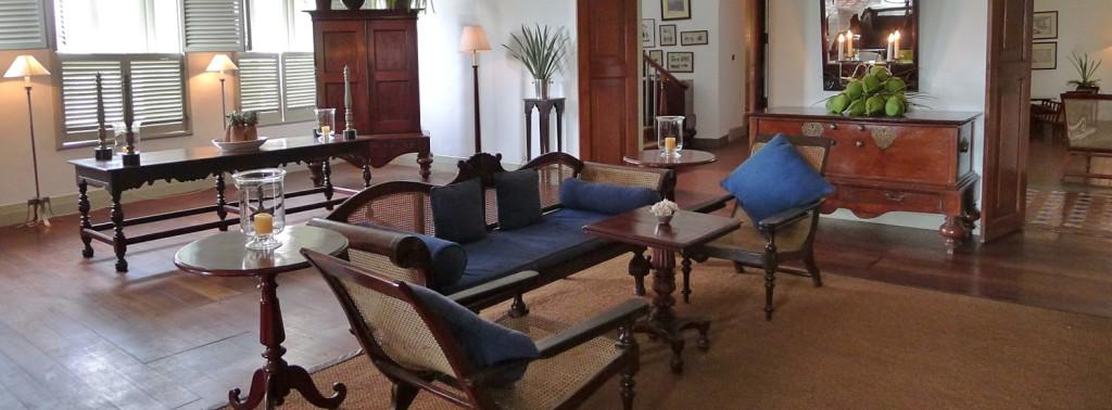 Sitting Area Amangalla Hotel