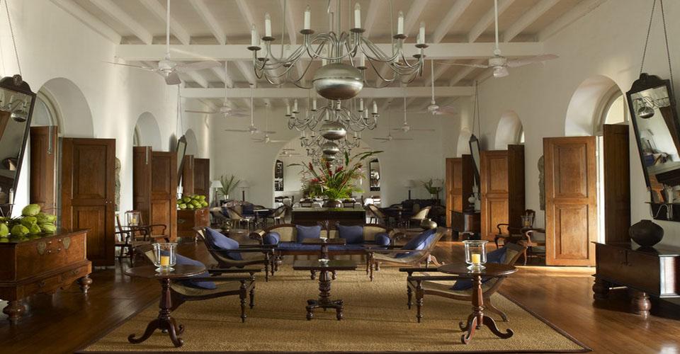 Main Lobby Amangalla Hotel