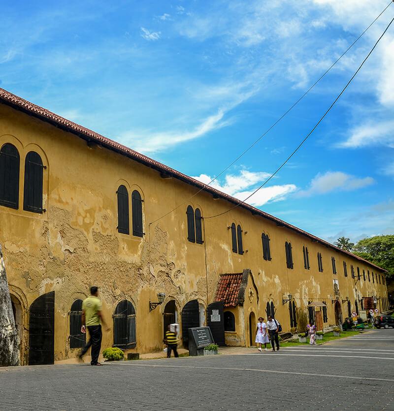 Tour of Galle Fort Sri Lanka