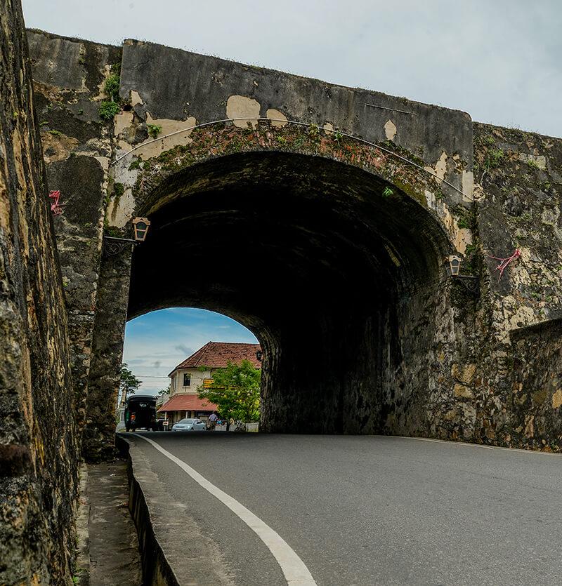 Galle Fort Entrance in Sri Lanka