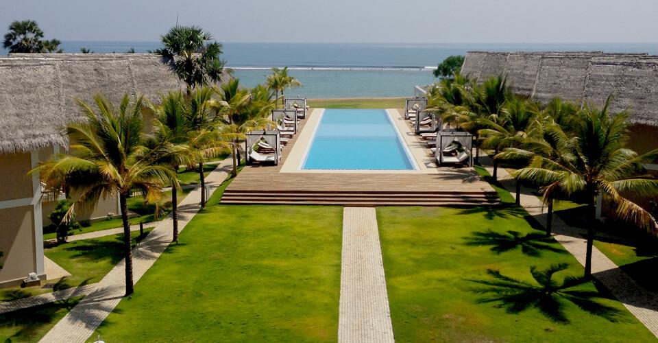 Pool View in Anilana Hotei