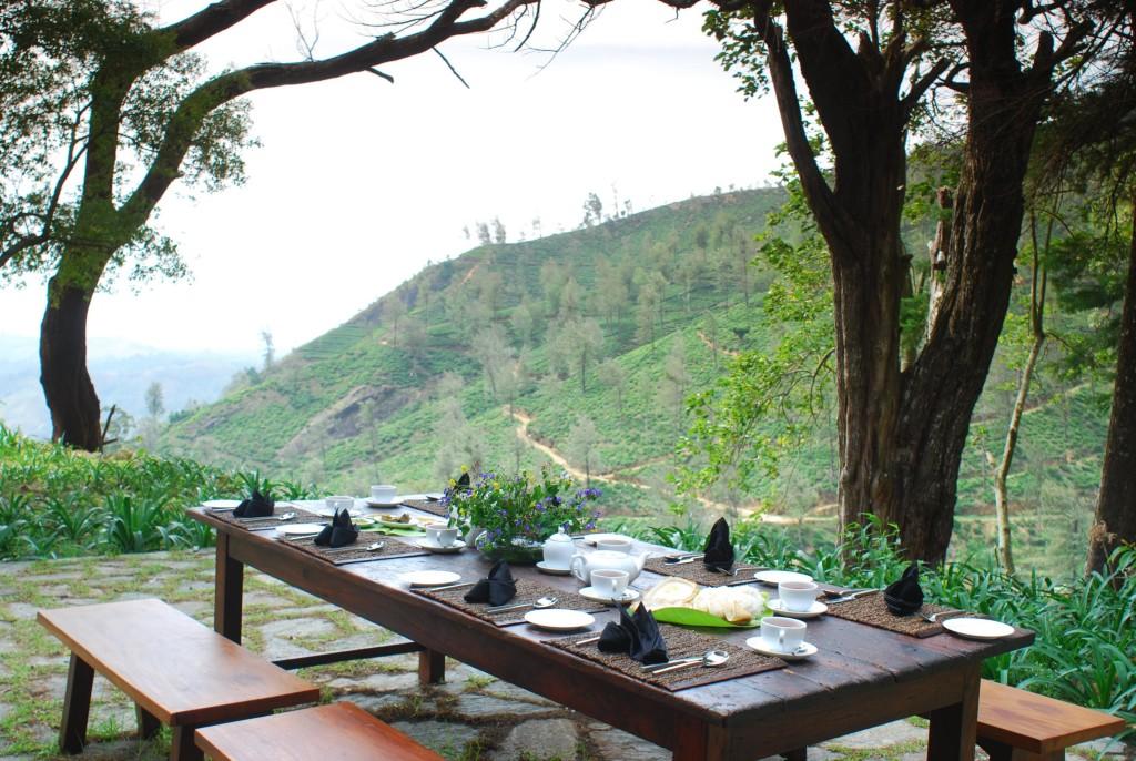 Outdoor Dinning in Sri Lanka