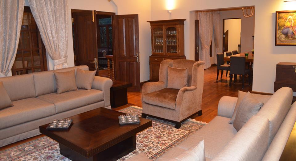 Sitting Area Stafford Bungalow in Sri Lanka