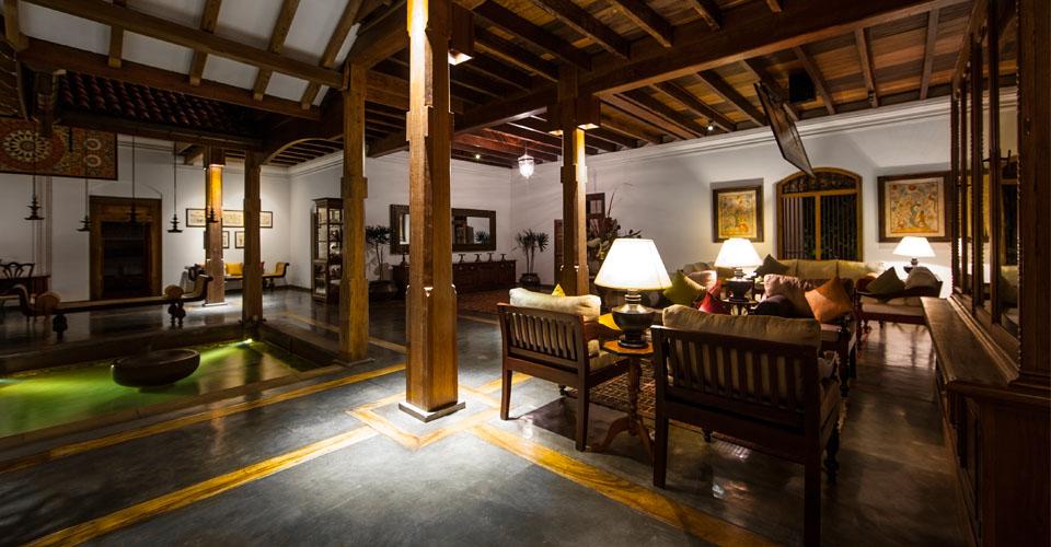 Sitting Area Ulagalla Hotel