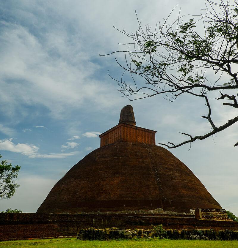 Abhayagiriya Dagaba in Anuradhapura
