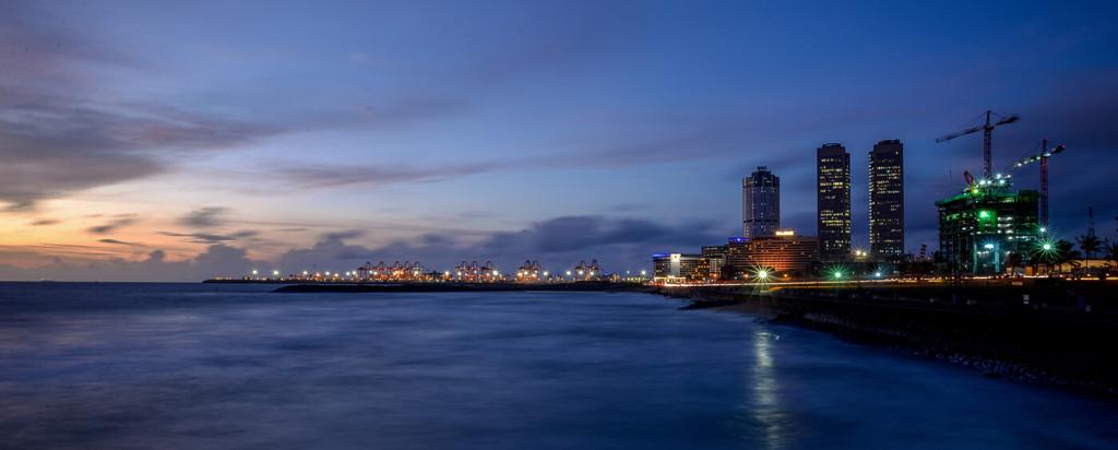 Colombo Port City in Sri Lanka