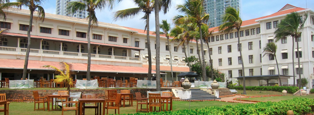Main View Galle Face Hotel 1