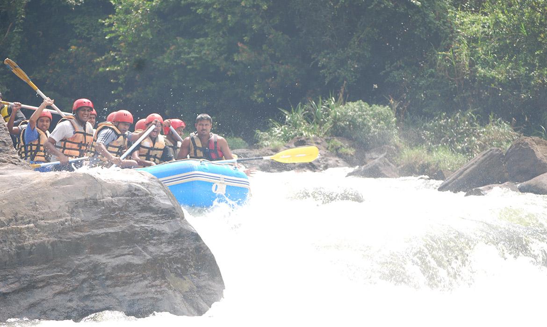 Water Rafting in Sri Lanka