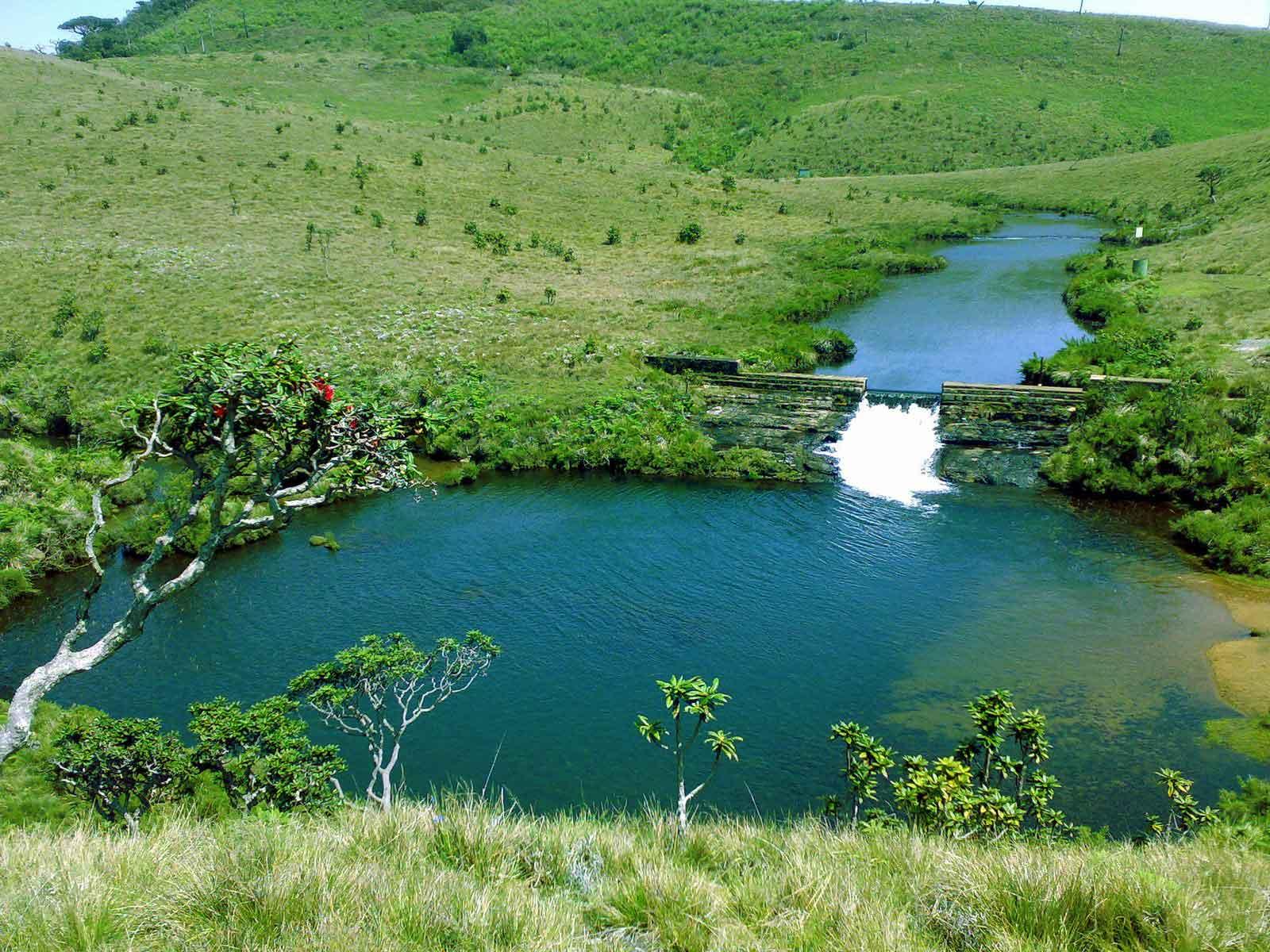 Horton Plains National Park Blue Lanka