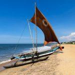 Negombo Beach in Sri Lanka