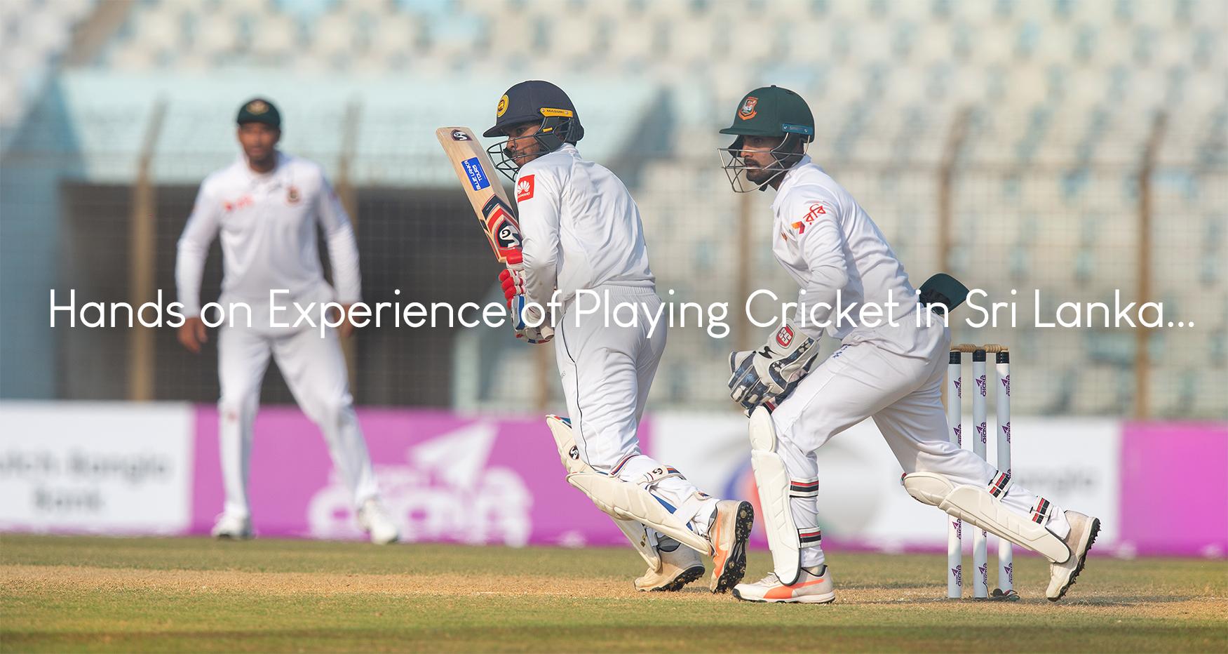 Cricket in Sri Lanka 2020