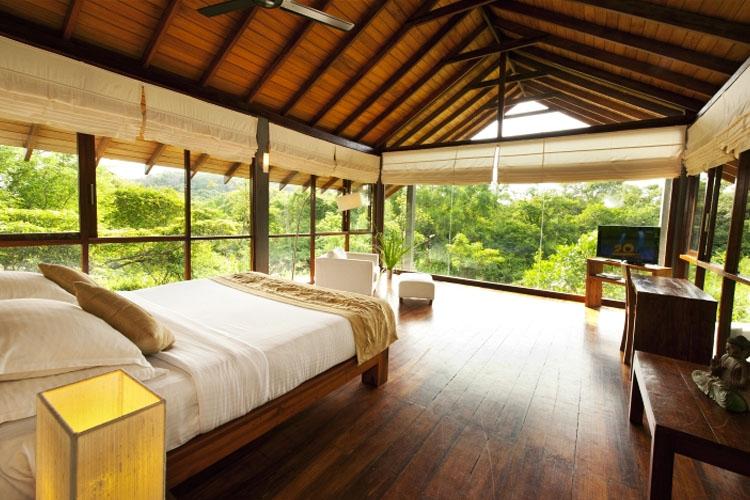 Bedroom View at Wild Grass Nature Resort in Sigiriya