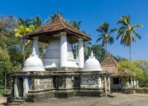 Gadaladeniya Vihara in Sri Lanka