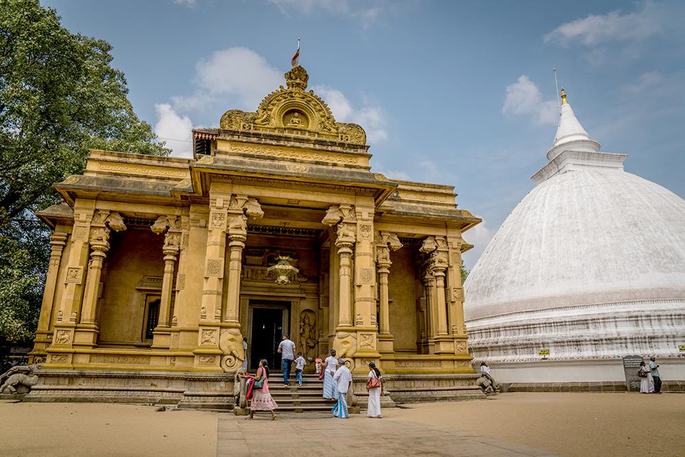 Kelaniya Raja Maha Vihara in Sri Lanka
