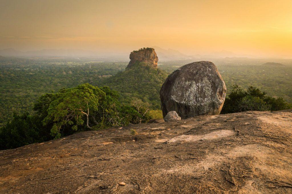 Pidurangala Rock in Sri Lanka