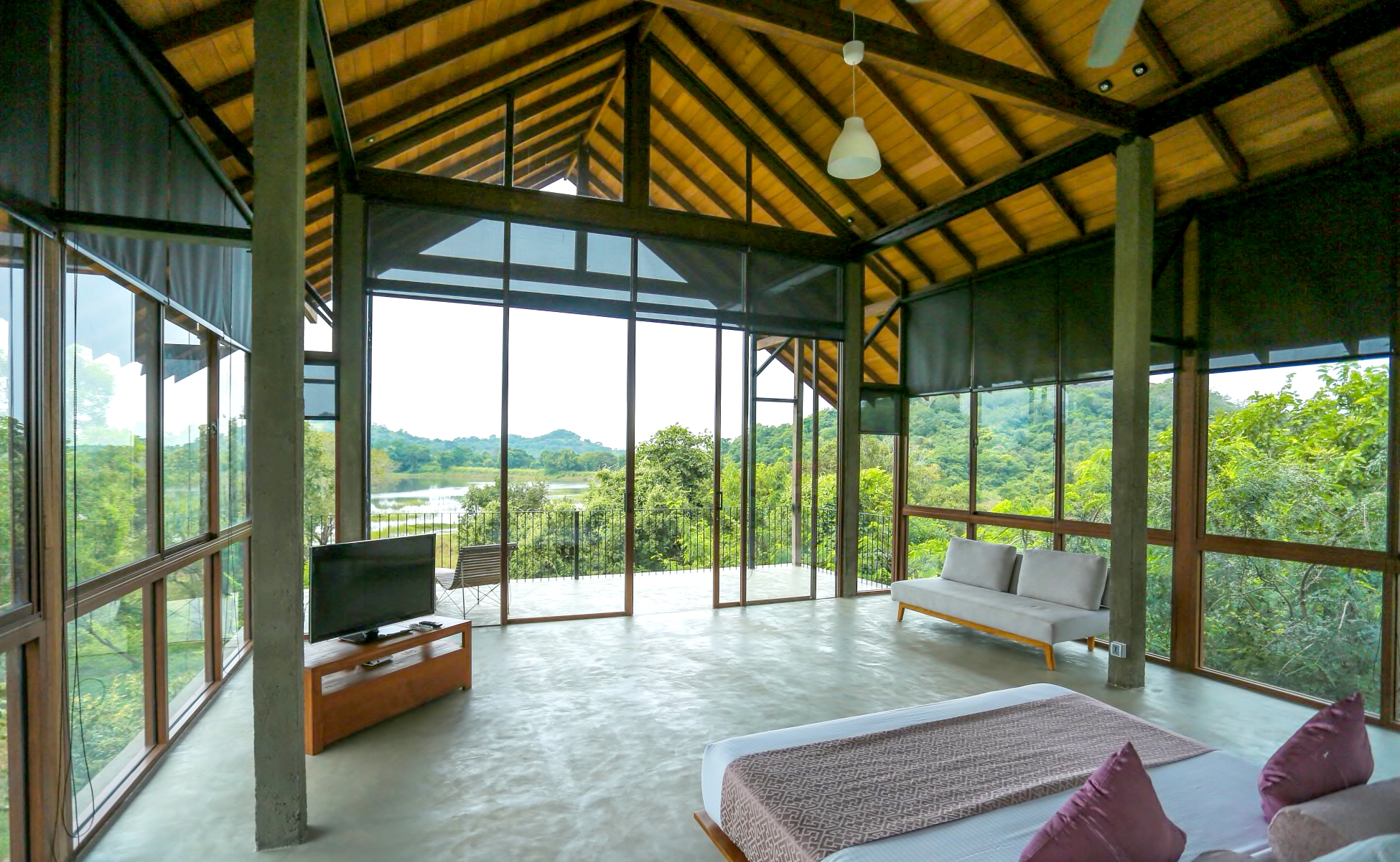 Bedroom View at Wild Grass Nature Resort