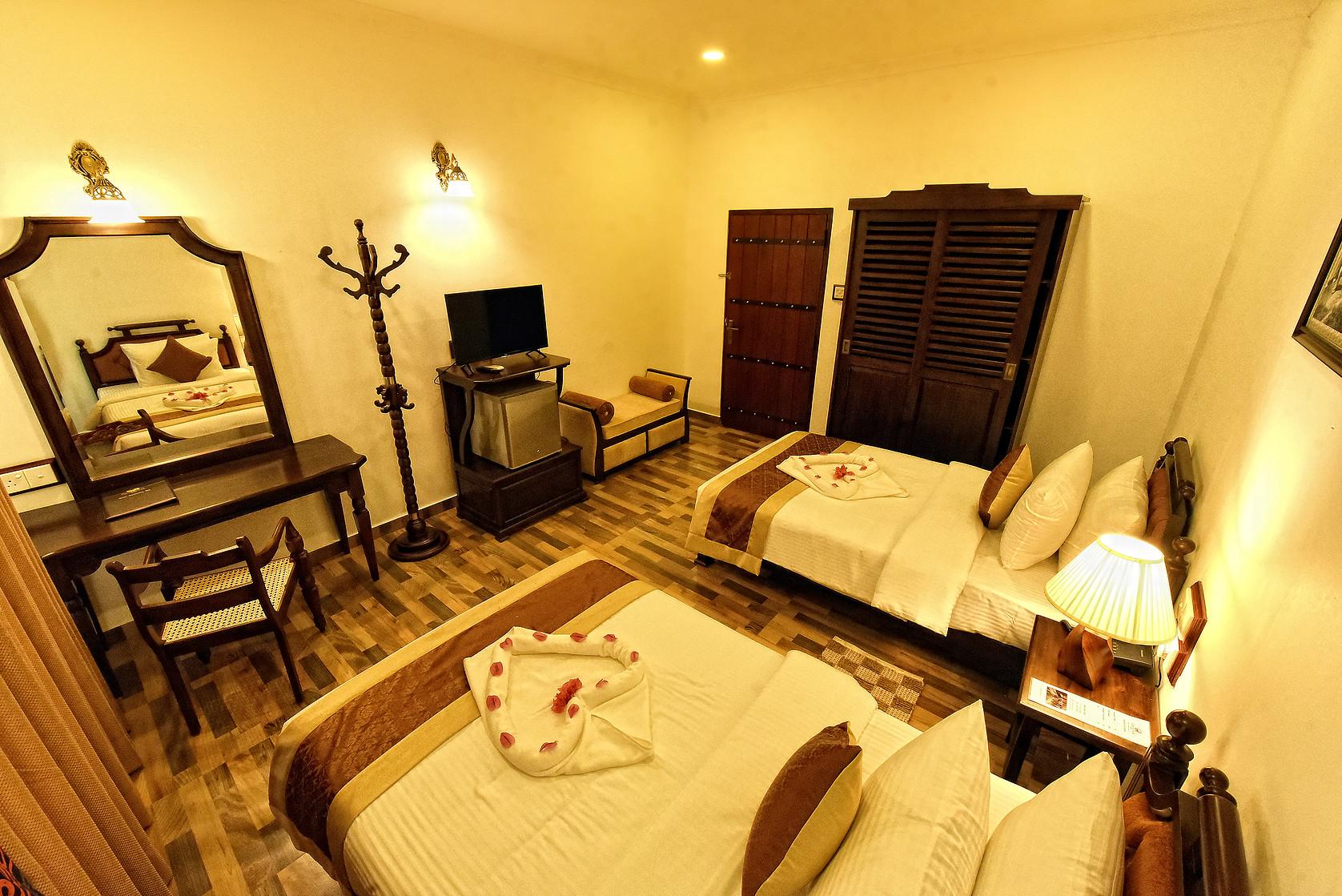Bedroom View at Centauria Wild in Sri Lanka