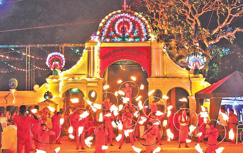 Kataragama Festival in Sri Lanka
