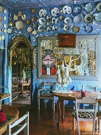 Dinning Room Helgas Folly in Kandy
