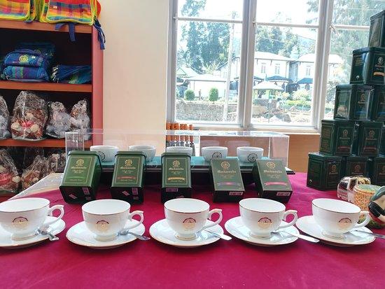 Mackwoods Tea Sign in Nuwara Eliya