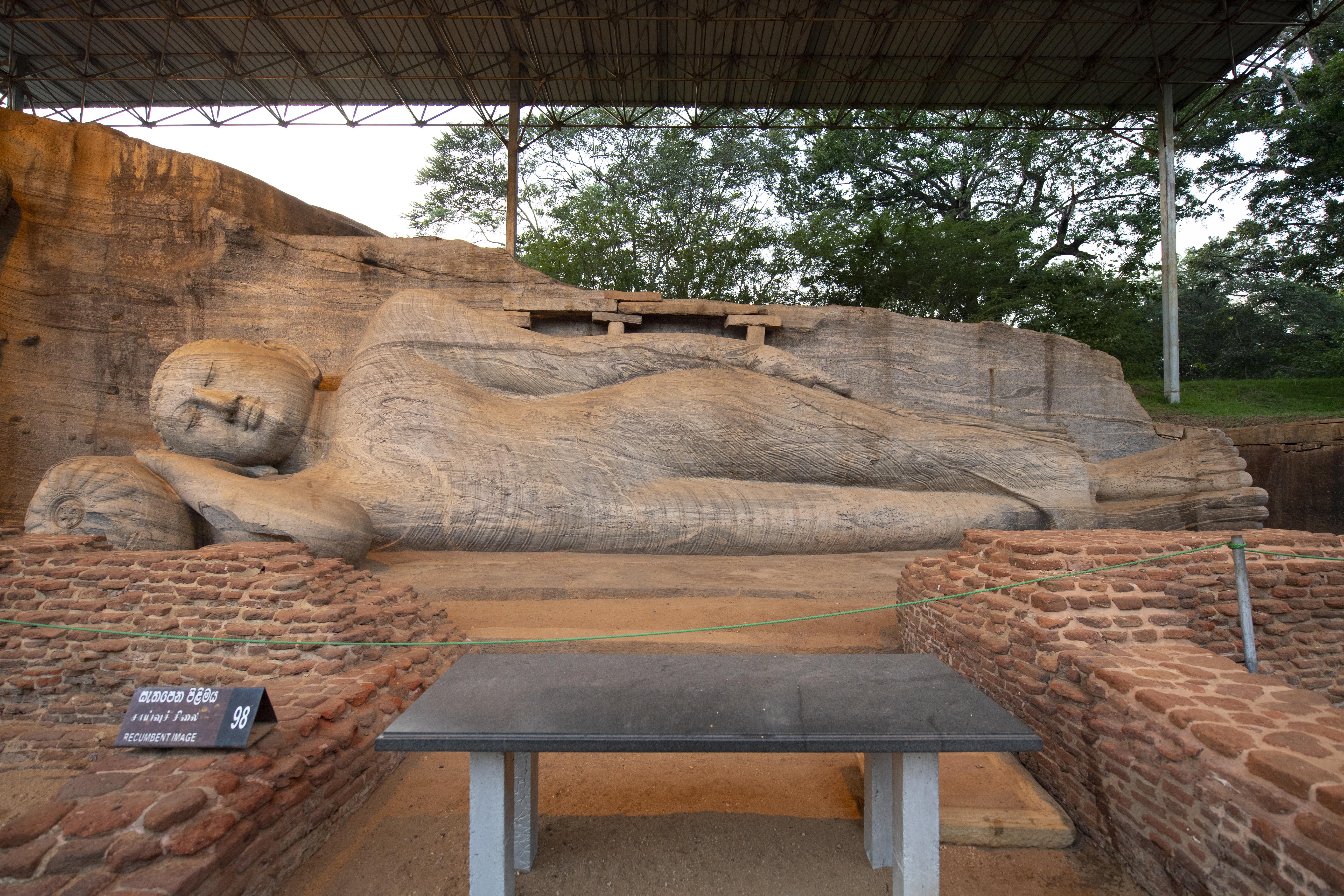 Gal Vihara Buddha Statue in Polonnaruwa