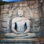 Gal Vihara Buddha Statue