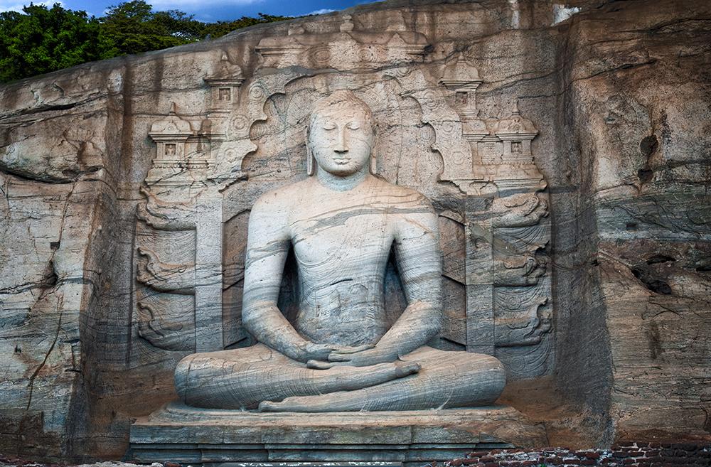 Gal Vihara Buddha Statues - Polonnaruwa