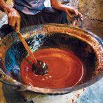 Coconut Treacle Making