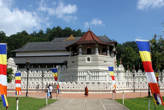 Tooth Relic of Buddha in Kandy