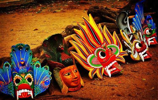 Mask Museum in Ambalangoda